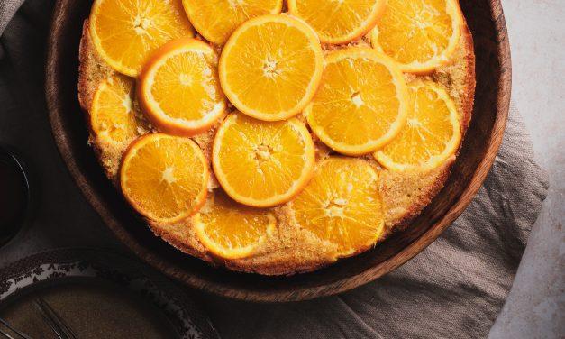 Recipe: Upside-Down Almond, Orange & Coconut Cake