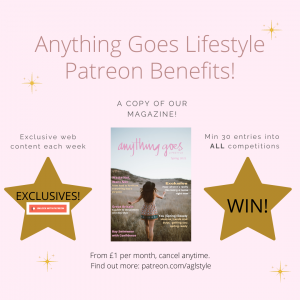 Anything Goes Lifestyle Patreon