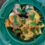 Recipe: Crispy Zucchini With Parmigiano-Reggiano, Lemon, and Mint