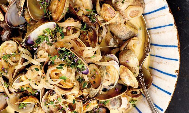Recipe: Clams with Dijon Broth