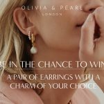 Win: A Pair of Olivia & Pearl Earrings With a Charm of Your Choice