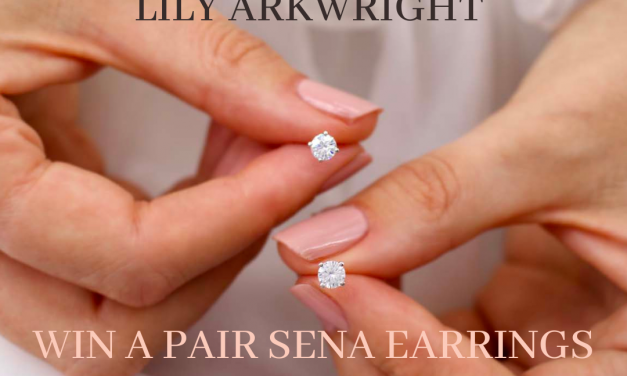 Win: A Pair of SENA White Gold Earrings from Lily Arkwright