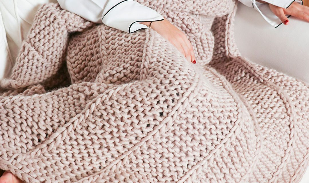 Win: The Medea Blanket Knitting Kit from we are knitters